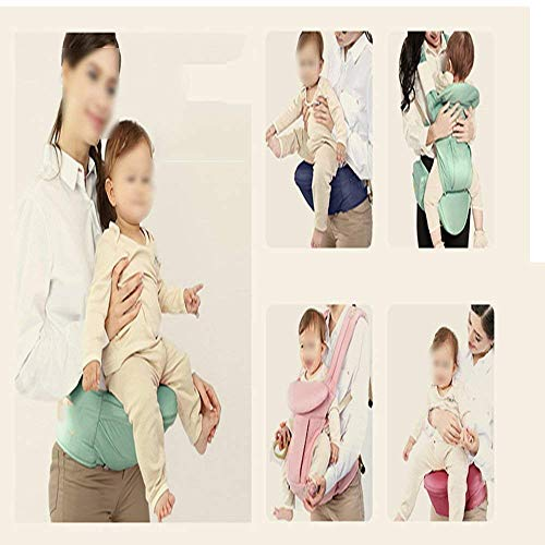 Newborn Carrier, Baby Carrier Comfortable Breathable Baby Carrier Multifunctional Baby Carrier Front Holder Baby Stool (Color : A)  DinRoll