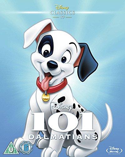 101 Dalmatians (1961) (Limited Edition Artwork Sleeve) [Blu-ray] [Region Free]