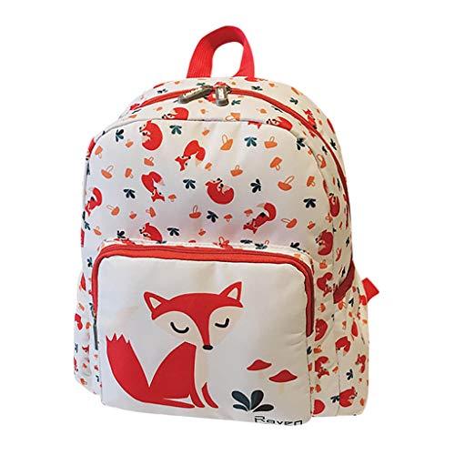 Zaino per Famiglia Backpack da Mamma e Figlia Colorati Scuola Piccola e Grande Borsa da Donna da Viaggio Animal Backpack Woman Bag Zaini Scuola Elementare Prima Fase di Scuola UOMOGO
