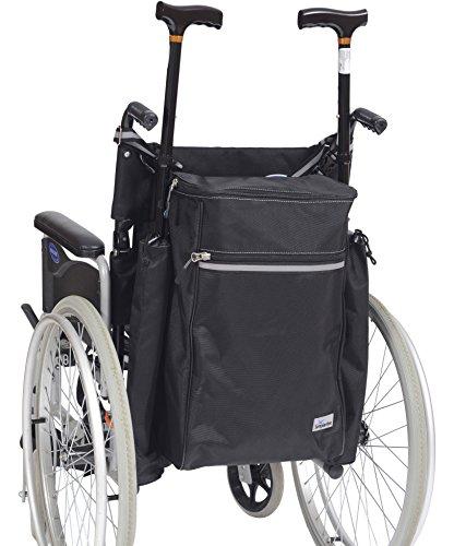 Ability Superstore Rollstuhl 'Die Goliath' Scooter/Tasche inkl. Krücke Taschen