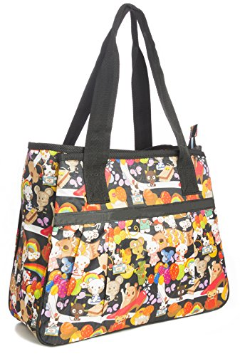 Big Handbag Shop ,  Unisex-Erwachsene Tasche Tote 865 - Rock Party Grey