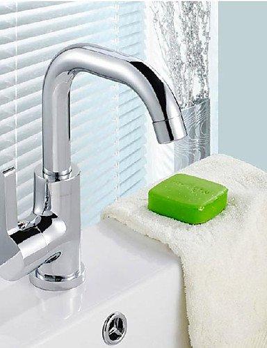 khskx nuovo e moderno singola maniglia centerset Bar lavello con rubinetto a collo di cigno bocca girevole