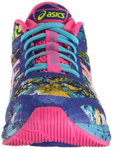 Asics Womens Gel-Noosa Tri 11 Running Shoe Asics Blue/White/Hot Pink