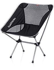 NatureHike Portable Chaise pliante 100Chaise de camping légère Chaise de plage décontracté Chaise