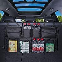 Fifth Gear® Hanging Car Boot Storage Organiser Multi Pocket Back Seat Organiser Waterproof Trunk Organiser with 8 Pockets