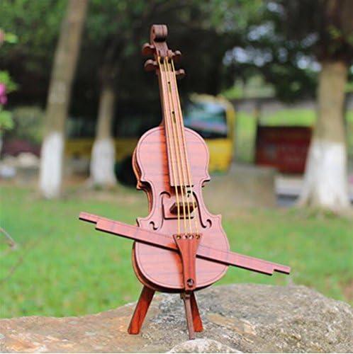 SunnyGod InstruHommes ts de Musique Modèle pour bébé Modèle Musique de Violoncelle InstruHommes t de Musique InstruHommes ts de tir en Bois décor à la Maison (Couleur Classique en Acajou) B07J4ZB6TW 420668
