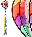 Acquista Wind gioco palloncino colorato Ø 23cm vento Spinner Vento spirale Decorativa da giardino Kind erdeko