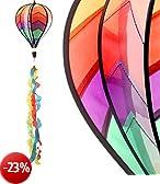Wind gioco palloncino colorato Ø 23cm vento Spinner Vento spirale Decorativa da giardino Kind erdeko