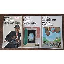 3 titres : L'amour et m. Lewisham - Le pays des aveugles - La burlesque équipée du cycliste --Folio--