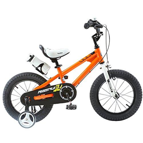 My-Wagen Kinder Fahrrad Leichte Balance Auto 12/14/16/18 Zoll Baby Mädchen Fahrrad 2-3-6-8 Jahre Old Boy Kinderwagen Farbe Orange (größe : 18 inches)