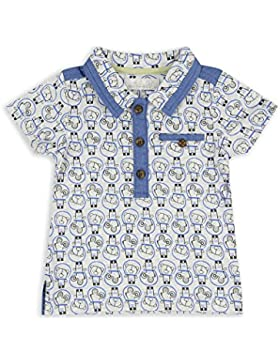 The Essential One - Baby Kinder Jungen Polo T-Shirt Kurzarm - Grau - EOT495