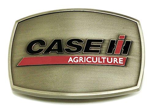 Preisvergleich Produktbild Case Agriculture IH Gürtelschnalle - Grau Hartzinn Antik-Fertig Hintergrund - Authentische Offiziell Lizenziertes Produkt - In Sammler Auflage Box - Spec Cast Collectible