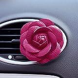 Woopower, profumatore a clip per auto e ambienti, decorazione per interni, a forma di camelia