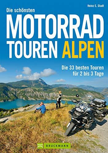 Motorradtouren Alpen: Die 33 besten Touren für 2-3 Tage. Perfekt für den Kurzurlaub oder Wochenendtouren mit dem Motorrad. Alpenpässe in Deutschland, Österreich und der Schweiz
