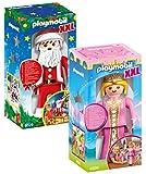 PLAYMOBIL® Set 4896 XXL Prinzessin + 6629 XXL Weihnachtsmann
