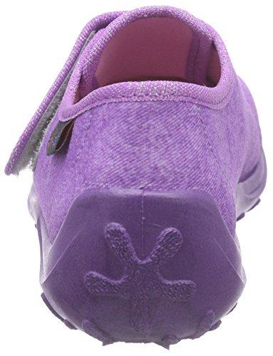 Rohde Boogy, Chaussons bas pour la maison, doublure froide fille Violet - Violett (58 violett)