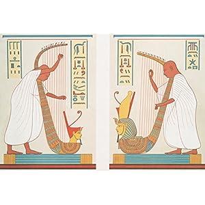Vintage ägyptischen illustration V (Leinwand)