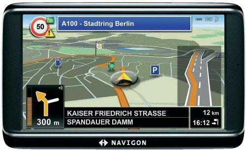 Navigon 72 Plus Europe 44 Limited Edition Navigationsgerät (12,7 cm (5 Zoll) Display, ST-AGPS, 4GB Flash Speicher, Europa Kartenmaterial, TMC)