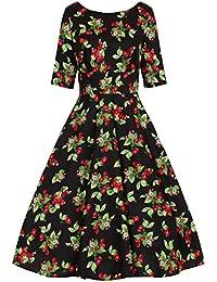 Amazon.it  Hell Bunny - Vestiti   Donna  Abbigliamento f8b71a1f952