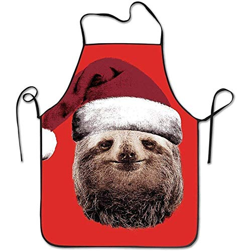 Ocabags New Christmas Tree Sloth Pretty Ditty Bibs Chef Aprons Retro Style 2018 Apron