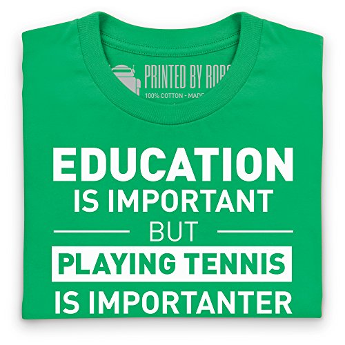 Playing Tennis T-Shirt, Herren Keltisch-Grn