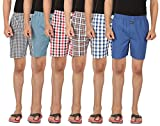 JOVEN Men's Multicolor Boxer pack of 6 (...