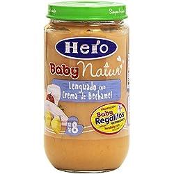 Hero Baby Natur Lenguado con Crema de Bechamel Potito para Bebés a partir de 8 meses 235 g