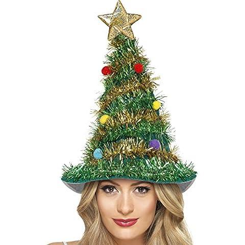 Gorro árbol de Navidad adulto - Única