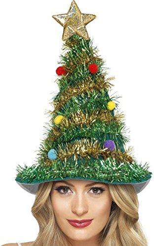 Smiffys Cappello Albero di Natale