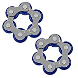 Best Pop Lights For Makeups - Roller Chain Fidget Toy, 2 Pack Link Anxiety Review