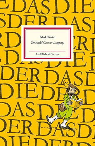 The Awful German Language (Insel-Bücherei)