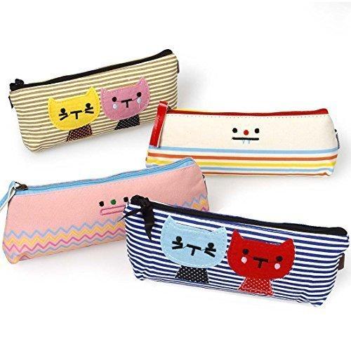 Preisvergleich Produktbild Bundle Monster Textil 4pc Kitty Kat und seine Freunde, mit Kabelbinder, Mäppchen