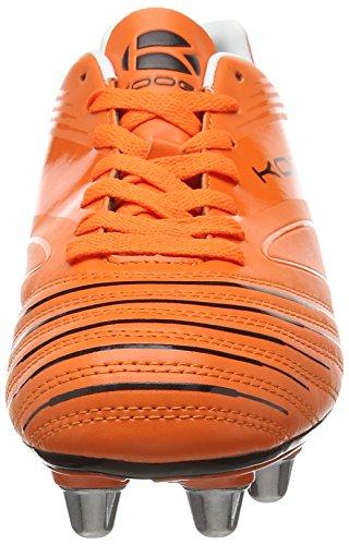 Kooga Advantage, Chaussures de Rugby homme Orange (Orange /Black)