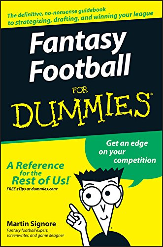 fantasy football for dummies amazon co uk martin signore rh amazon co uk