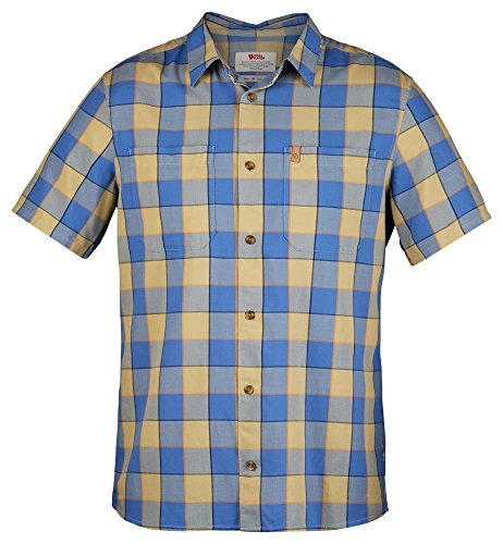 Fjällräven High Coast Big Check Short Sleeve Shirt Men - Kurzarmhemd UN Blue (525)