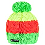 Beanie Hat WOOLLY Knitted Cookies Eskimo Style Wool with Ponpon Men's Women's Winter Warm SKI Snowboard Hats