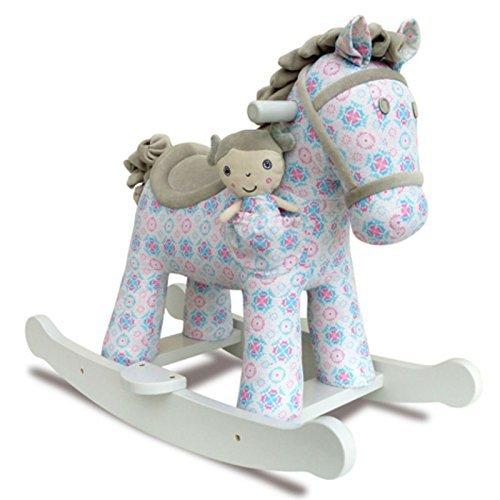 Little Bird Told Me LB3056 Rosie & Mae Rocking Horse & Stuffed Animal