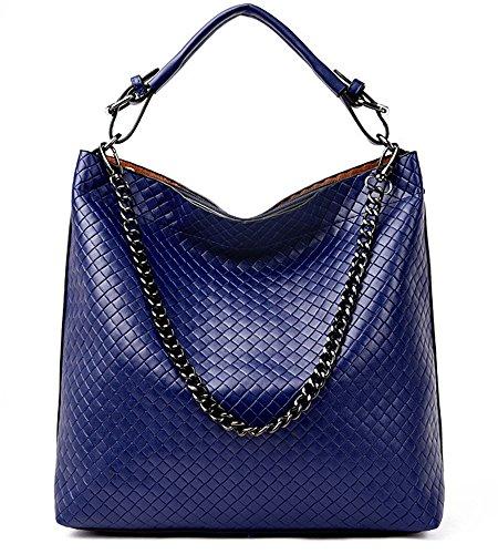 Vincico, Borsa a spalla donna viola Purple Blue