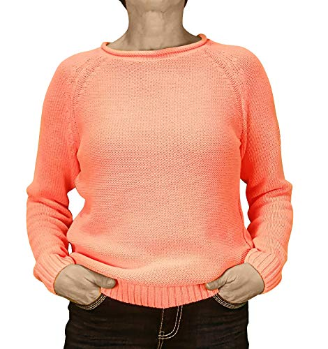 SOCCX Pullover SPI-1806-4892 Winter Coral Winter Lights (S)