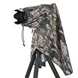 Matin M-7091 Size M Camouflage Rain Cover for Digital SLR