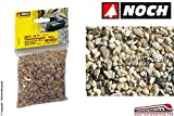 Noch - 09216 - Sacchetto Sassolini Arenaria Grana Media 250 Gr Ho-TT-N-Z