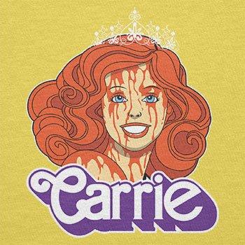 NERDO - Carrie - Herren T-Shirt Gelb