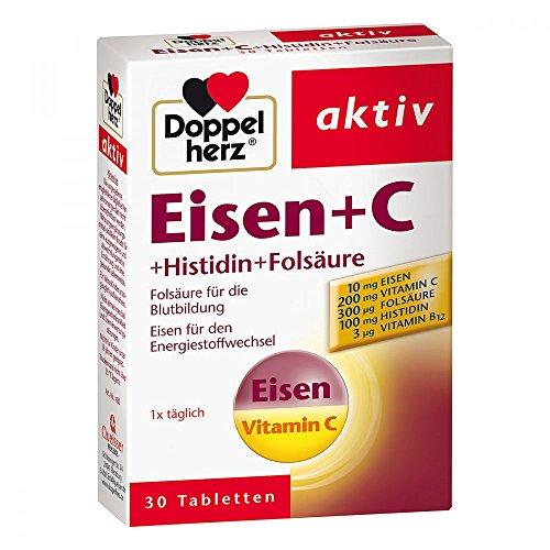 Vit Eisen (Doppelherz Eisen+vit.c+l-histidin Tabletten 30 stk)