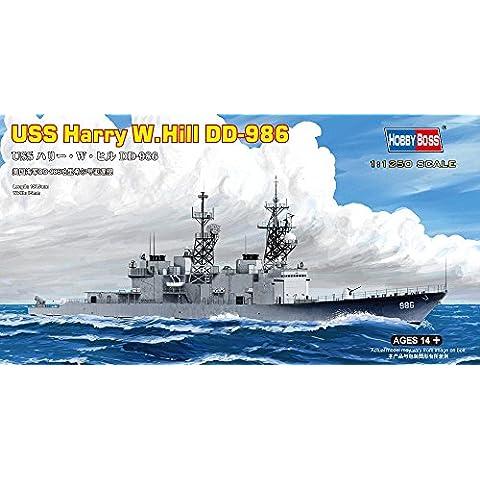 Hobbyboss 1:1250 -Modellino Nave da guerra USS