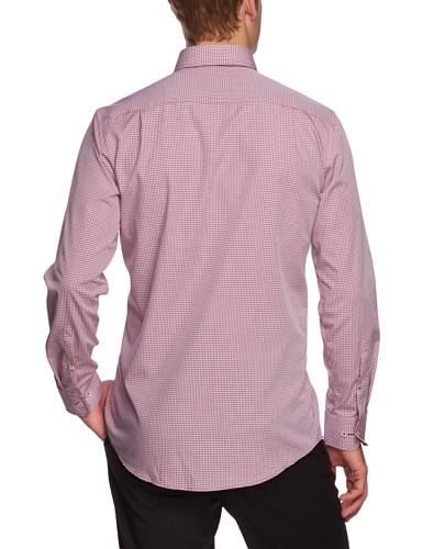 Seidensticker Herren Businesshemd Regular Fit 185362 Rot (43 - rot)
