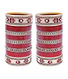 Lucky Jewellery Maroon Bridal Punjabi Ch...