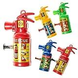 JT Feuerlöscher Wasserspritze klein 12er Pack - Mitbringsel Kindergeburtstag Mottoparty Feuerwehr