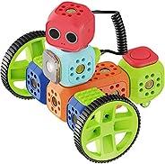 Robo Wunderkind – Set robotique modulable- Education Kit – 8 Blocs et 15 pièces – Jouet STEM programmable – 3