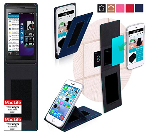 lackBerry Z10 Tasche Cover Case Bumper | Blau | Testsieger ()