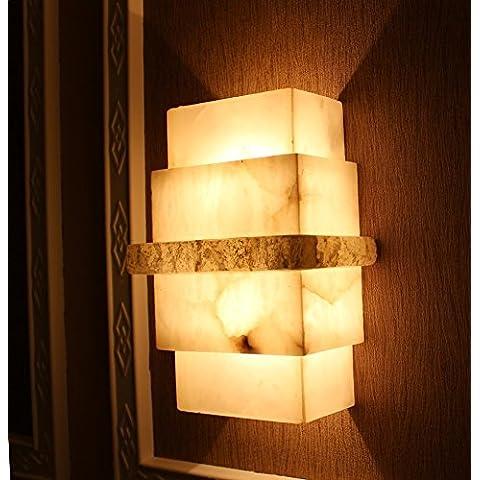 XiangMing Il marmo nube luminosa Shek Pik luce lampada continentale light hotel camera da letto soggiorno luci da parete ,300x180x100 luci da parete
